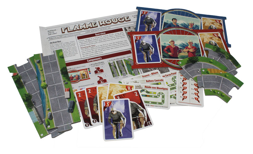 Flamme Rouge Game Components