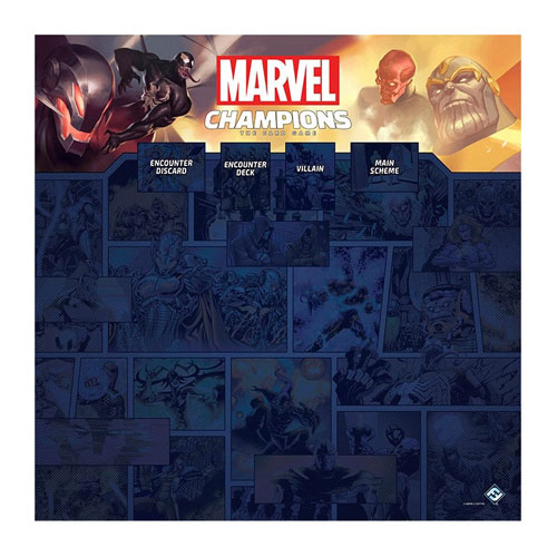 Marvel Champions: 1–4 Player Game Mat
