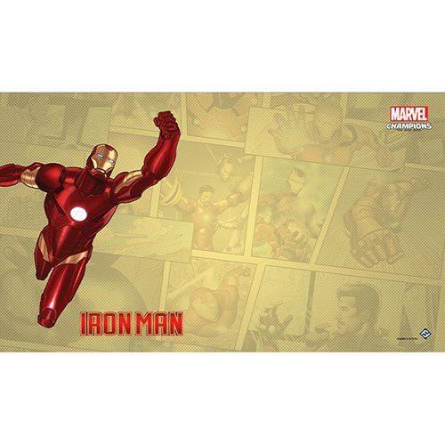 Marvel Champions Iron Man Game Mat