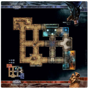 Star Wars: Imperial Assault - Gray Cap Cantina Raid Map