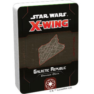 Star Wars X-Wing: Galactic Republic Damage Deck