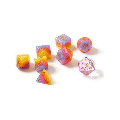 Tahitian Sunset Polyhedral Dice Set