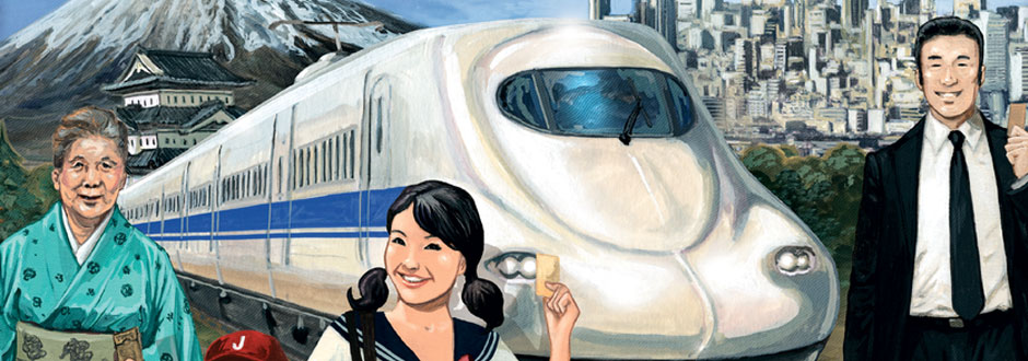 News – Ticket to Ride Japan Expansion announced by Days of Wonder!