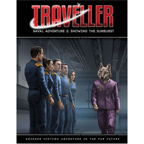Traveller: Naval Adventure 2: Showing the Sunburst