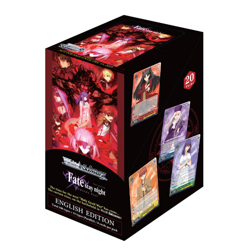 WS Booster Box: Fate Stay Night: Heaven's Feel