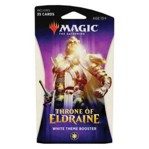 MTG: Throne of Eldraine Theme Booster - White