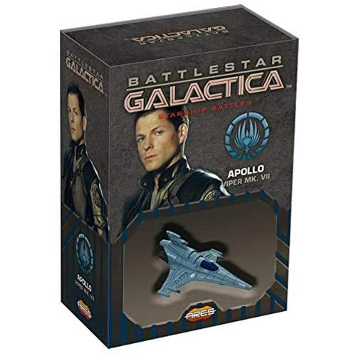 Battlestar Galactica Starship Battles Spaceship Pack Apollos Viper MKVII