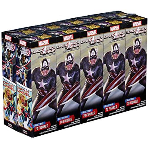 Captain America and the Avengers Booster Brick Marvel HeroClix
