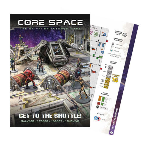 Core Space Get To The Shuttle Expansion