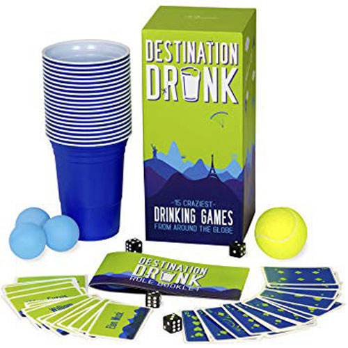 Destination Drunk - 15 Craziest Drinking Games From Around The Globe