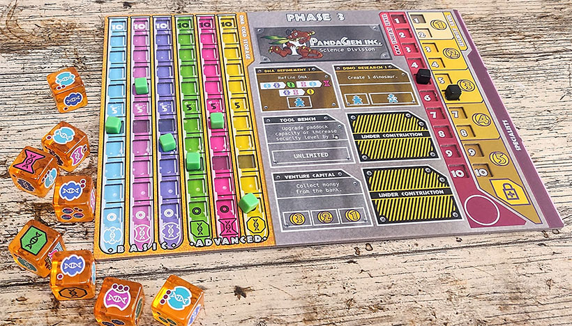 Dinosaur Island Review - Phase One