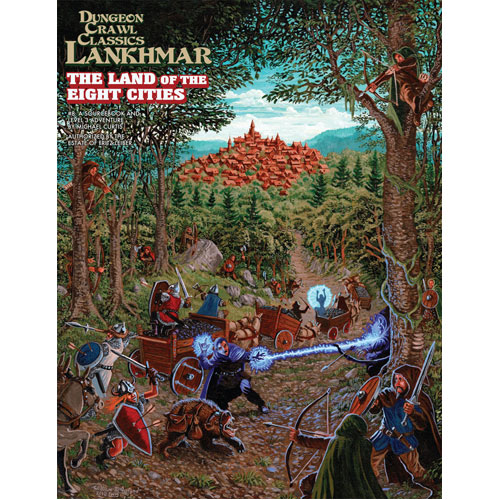 Dungeon Crawl Classics RPG Lankhmar: #8 The Land of Eight Cities
