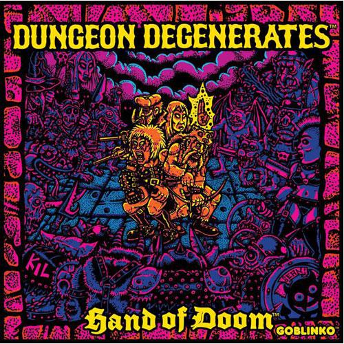 Dungeon Degenerates Hand of Doom