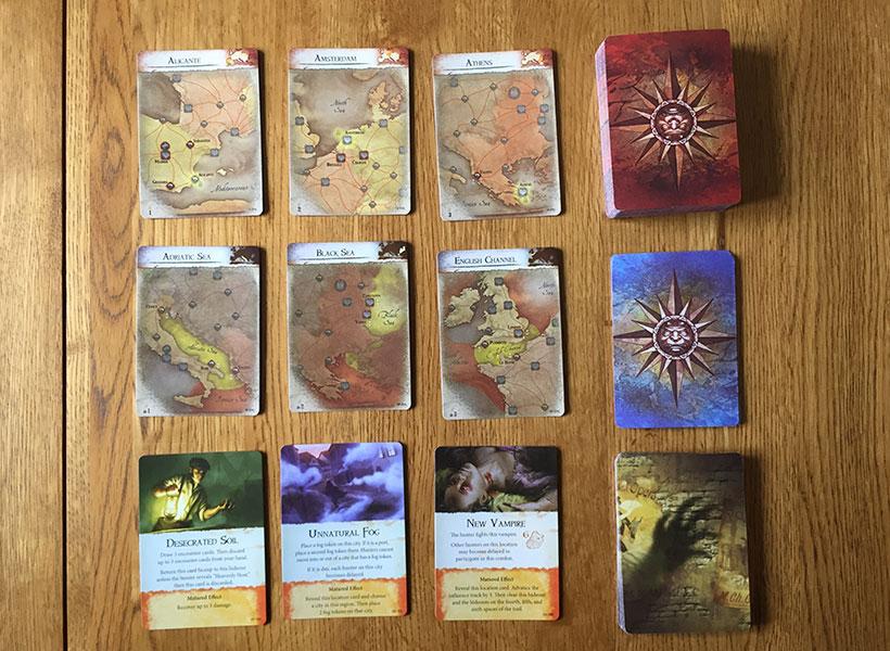 Fury of Dracula - Drac's Cards