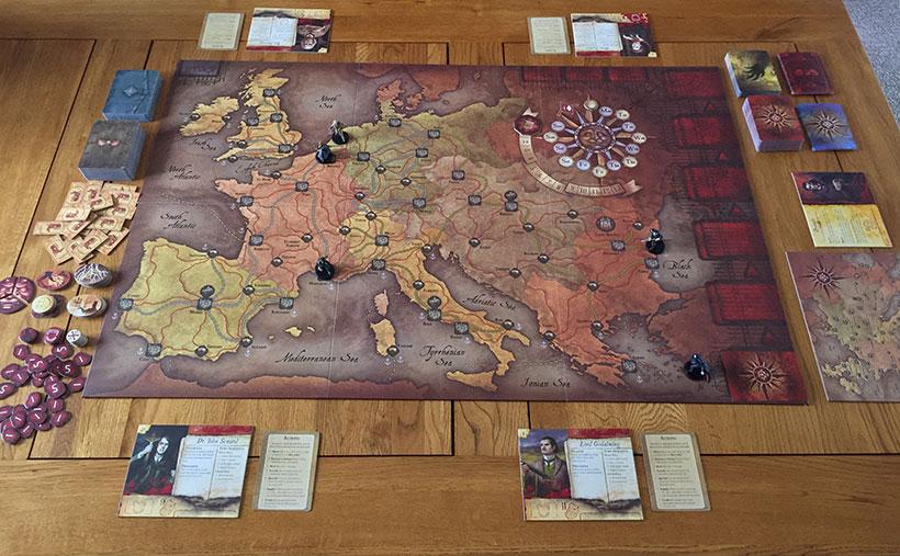 Fury of Dracula - Game Set-Up