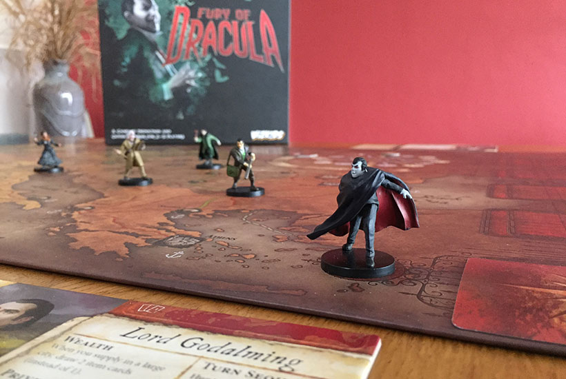 Fury of Dracula - In Pursuit