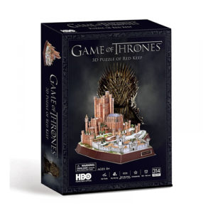 Game Of Thrones 3D Puzzles - Red Keep