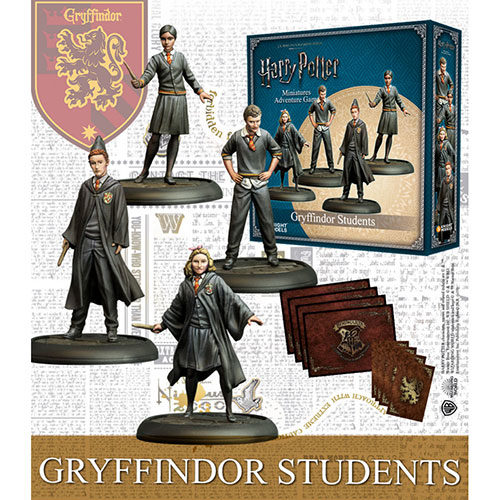 Harry Potter Miniatures Adventure Game Gryffindor Students