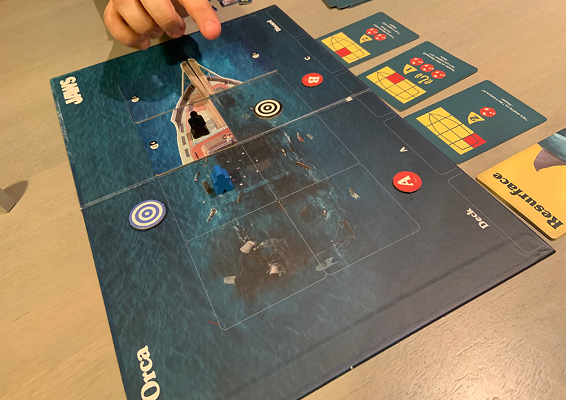Jaws The Board Game Review - Flooding The Orca