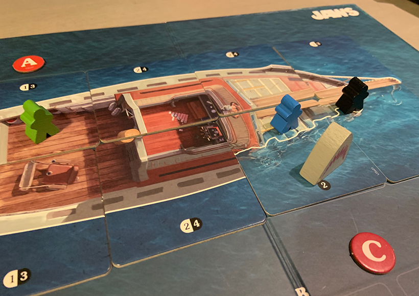Jaws The Board Game Review - Phase 2 The Orca