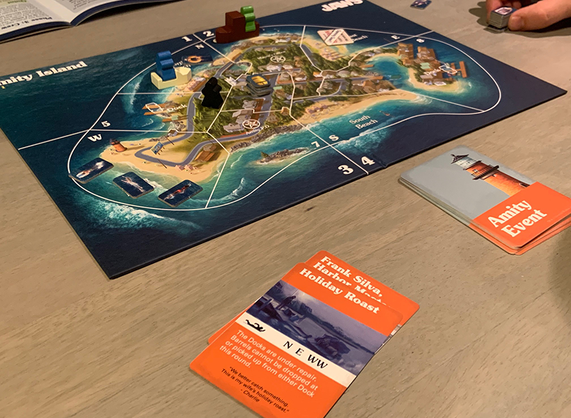 Jaws The Board Game Review - Phase One Amity Island