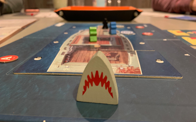 Jaws The Board Game Review - Shark Meeple