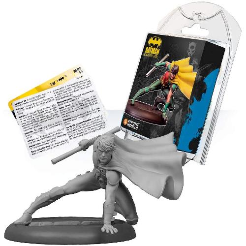 KNIGHT MODELS Tabletop - Miniature Game Resina DC Comics Superhero - Batman _ Robin (Jason Todd)
