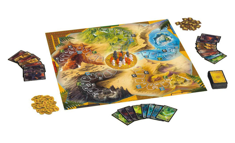 Lost Cities - The Board Game Components