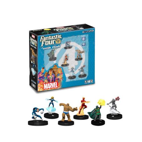Marvel HeroClix Fantastic Four Cosmic Clash 6-Figure Starter Set