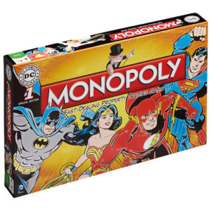 Monopoly - DC Comics Retro Uk
