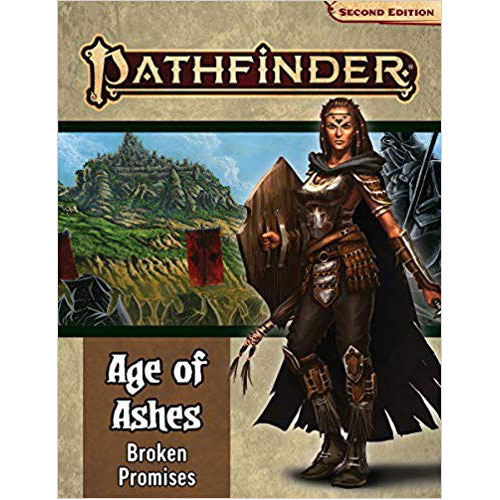 Pathfinder RPG Second Edition (P2): Adventure Path: Fires of the Haunted City (Age of Ashes 4 of 6)