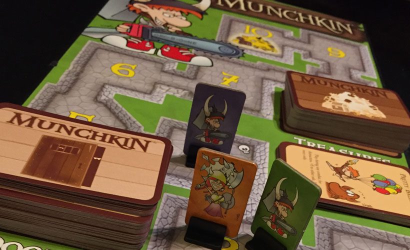 Playing Munchkin Deluxe
