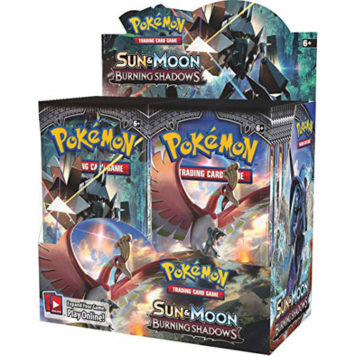 Pokemon TCG: Sun & Moon 3 Burning Shadows Booster Box