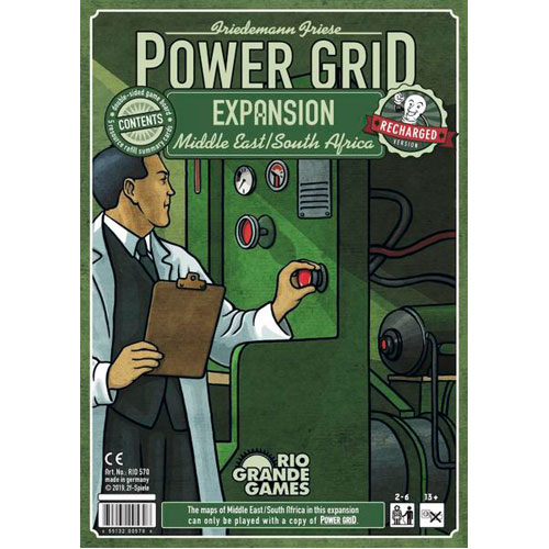 Power Grid: The Middle East/ South Africa Expansion