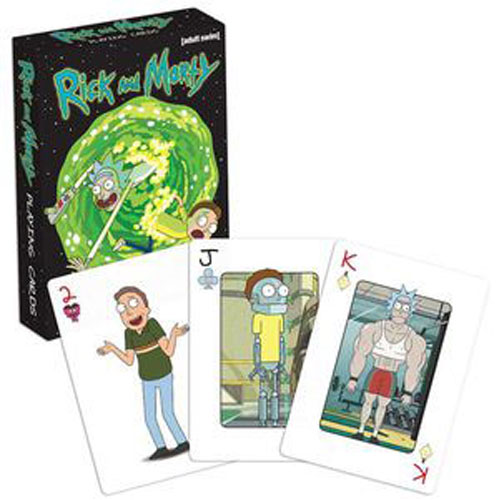 Rick And Morty Playing Cards