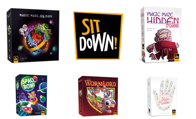 Sit Down! Games - Essen Collection