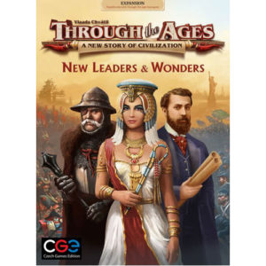Through the Ages Expansion: New Leaders & Wonders