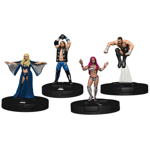 WWE HeroClix: Mixed Match Challenge WWE Ring: 2-Player Starter Set