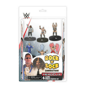 WWE HeroClix: The Rock 'n' Sock Connection: 2-Player Starter Set