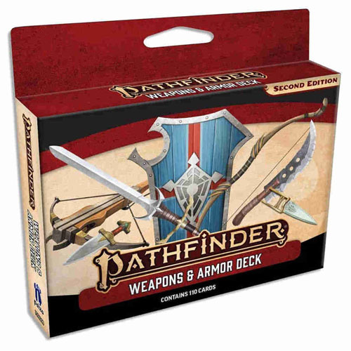 Weapons & Armor Deck: Pathfinder RPG Second Edition