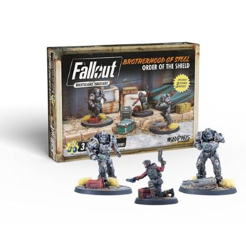 Fallout: Wasteland Warfare: Brotherhood of Steel: Order of the Shield