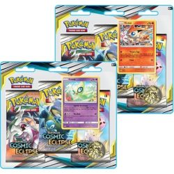 Pokemon TCG: Sun & Moon Cosmic Eclipse Blister 3-Pack Booster Pack