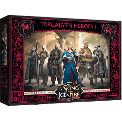 A Song Of Ice and Fire Expansion Targaryen Heroes # 1