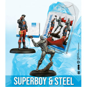 DC Universe Game: Superboy and Steel