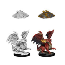 D&D Nolzur's Marvelous Unpainted Miniatures (W11): Young Red Dragon