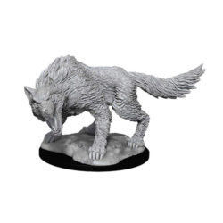 D&D Nolzur's Marvelous Unpainted Miniatures (W11): Winter Wolf