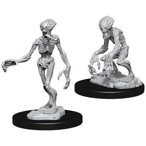D&D Nolzur's Marvelous Unpainted Miniatures (W11): Doppelganger Pack of 6