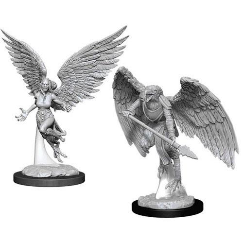 D&D Nolzur's Marvelous Unpainted Miniatures (W11): Harpy & Arakocra Pack of 6