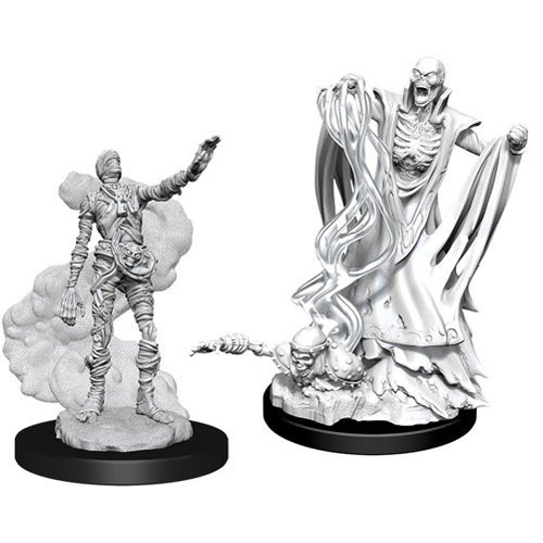 D&D Nolzur's Marvelous Unpainted Miniatures (W11): Lich & Mummy Lord Pack of 6