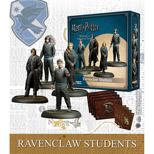 Harry Potter Miniatures Adventure Game Ravenclaw Students Expansion